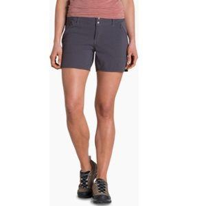 Kuhl Women's Strattus Shorts Carbon Gray Sz 12